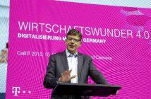 Reinhard Clemens vom Vorstand T-Systems