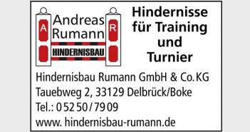 Andreas Ruhmann Hindernisbau