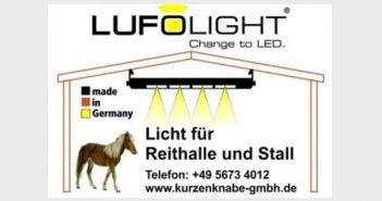 lufolight Reithallenlicht