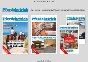 Mediadaten Profi-Magazin Pferdebetrieb 2019