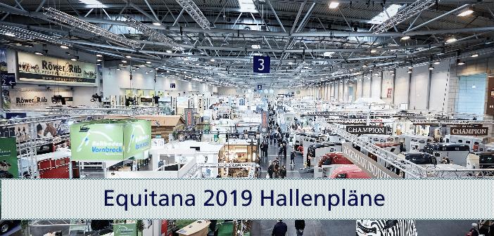 EQUITANA 2019 Hallenpläne