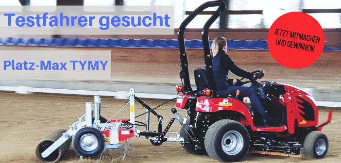 Verlosung Platz-Max TYMY – Bodenpflegegerät sucht Tester