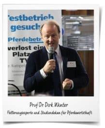 Bedarfsgerecht füttern: Prof. Dr. Dirk Winter Hochschule für Wirtschaft und Umwelt Nürtingen-Geislingen