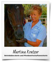 Martina Kratzer gibt Tipps für Pferdebetriebe