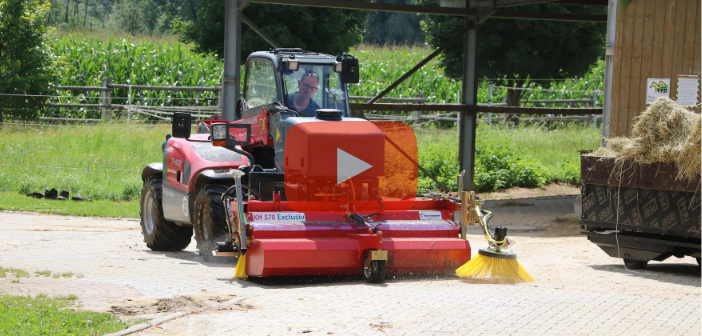 Praxistest-Video Kehrmaschine KM 570 Exklusiv