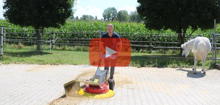 Praxistest-Video: Turbobesen TB 902 mit Elektroantrieb