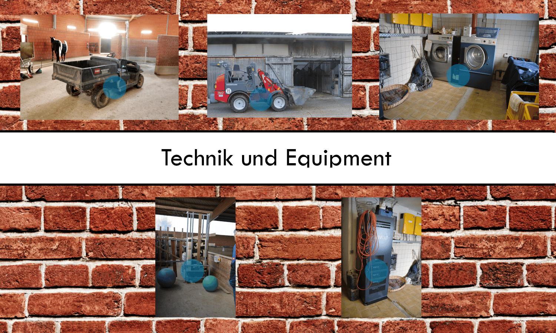 Reitstall Pavel: Technik und Equipment