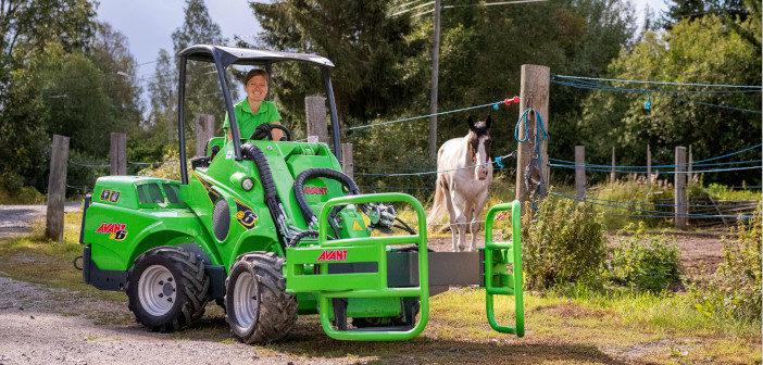 Avant e6 Multifunktionslader für Pferdebetriebe